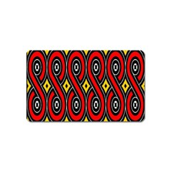 Toraja Traditional Art Pattern Magnet (name Card)