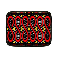 Toraja Traditional Art Pattern Netbook Case (small)  by BangZart