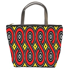 Toraja Traditional Art Pattern Bucket Bags