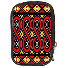 Toraja Traditional Art Pattern Compact Camera Cases by BangZart