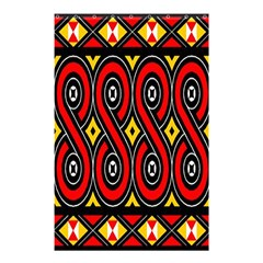Toraja Traditional Art Pattern Shower Curtain 48  X 72  (small)  by BangZart