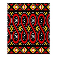 Toraja Traditional Art Pattern Shower Curtain 60  X 72  (medium)