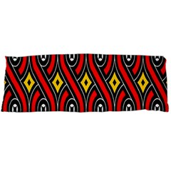 Toraja Traditional Art Pattern Body Pillow Case (dakimakura)