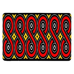 Toraja Traditional Art Pattern Samsung Galaxy Tab 8 9  P7300 Flip Case