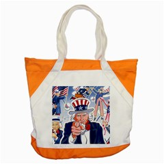 Independence Day United States Of America Accent Tote Bag
