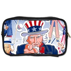 Independence Day United States Of America Toiletries Bags by BangZart