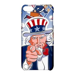 Independence Day United States Of America Apple Ipod Touch 5 Hardshell Case With Stand