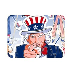 Independence Day United States Of America Double Sided Flano Blanket (mini)