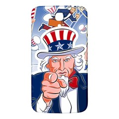 Independence Day United States Of America Samsung Galaxy Mega I9200 Hardshell Back Case