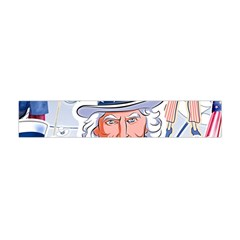Independence Day United States Of America Flano Scarf (mini)