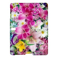 Colorful Flowers Patterns Samsung Galaxy Tab S (10 5 ) Hardshell Case