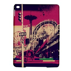Pink City Retro Vintage Futurism Art Ipad Air 2 Hardshell Cases