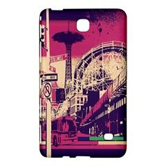 Pink City Retro Vintage Futurism Art Samsung Galaxy Tab 4 (8 ) Hardshell Case