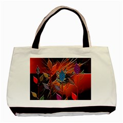 Colorful Leaves Basic Tote Bag