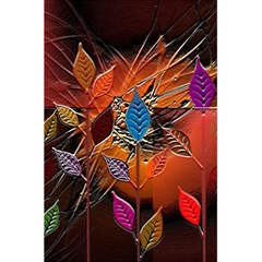 Colorful Leaves 5 5  X 8 5  Notebooks