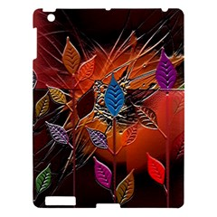 Colorful Leaves Apple Ipad 3/4 Hardshell Case
