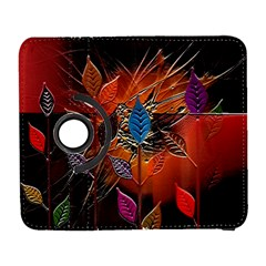 Colorful Leaves Galaxy S3 (flip/folio) by BangZart