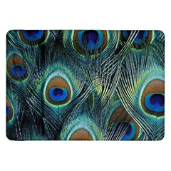 Feathers Art Peacock Sheets Patterns Samsung Galaxy Tab 8 9  P7300 Flip Case by BangZart
