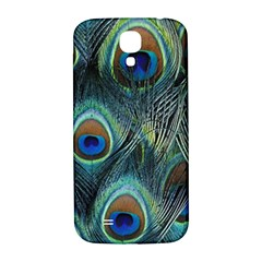 Feathers Art Peacock Sheets Patterns Samsung Galaxy S4 I9500/i9505  Hardshell Back Case by BangZart
