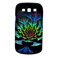 Fractal Flowers Abstract Petals Glitter Lights Art 3d Samsung Galaxy S Iii Classic Hardshell Case (pc+silicone)