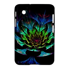 Fractal Flowers Abstract Petals Glitter Lights Art 3d Samsung Galaxy Tab 2 (7 ) P3100 Hardshell Case