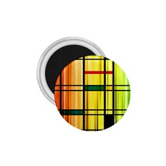 Line Rainbow Grid Abstract 1 75  Magnets by BangZart
