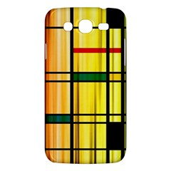 Line Rainbow Grid Abstract Samsung Galaxy Mega 5 8 I9152 Hardshell Case  by BangZart