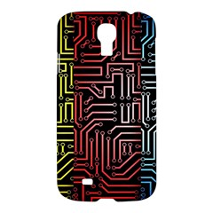 Circuit Board Seamless Patterns Set Samsung Galaxy S4 I9500/i9505 Hardshell Case by BangZart