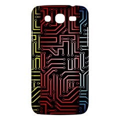 Circuit Board Seamless Patterns Set Samsung Galaxy Mega 5 8 I9152 Hardshell Case  by BangZart