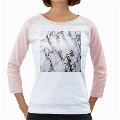 Marble Pattern Girly Raglans
