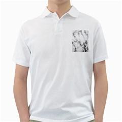 Marble Pattern Golf Shirts