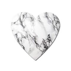 Marble Pattern Heart Magnet