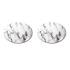 Marble Pattern Cufflinks (oval) by BangZart