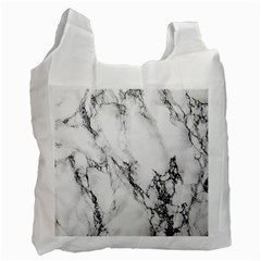 Marble Pattern Recycle Bag (two Side)