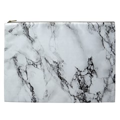 Marble Pattern Cosmetic Bag (xxl)