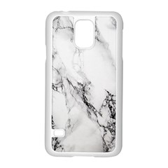Marble Pattern Samsung Galaxy S5 Case (white) by BangZart