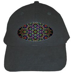The Flower Of Life Black Cap