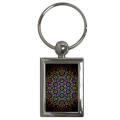 The Flower Of Life Key Chains (rectangle)