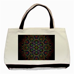 The Flower Of Life Basic Tote Bag by BangZart