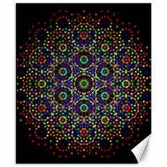 The Flower Of Life Canvas 8  X 10