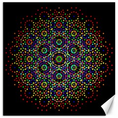 The Flower Of Life Canvas 20  X 20