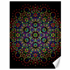 The Flower Of Life Canvas 36  X 48