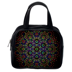 The Flower Of Life Classic Handbags (one Side)