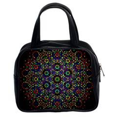 The Flower Of Life Classic Handbags (2 Sides)
