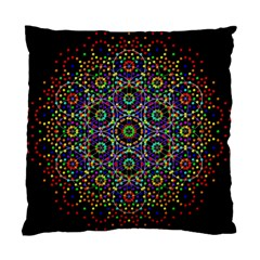 The Flower Of Life Standard Cushion Case (two Sides)