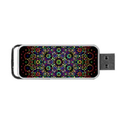 The Flower Of Life Portable Usb Flash (one Side)