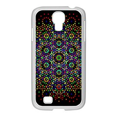 The Flower Of Life Samsung Galaxy S4 I9500/ I9505 Case (white)