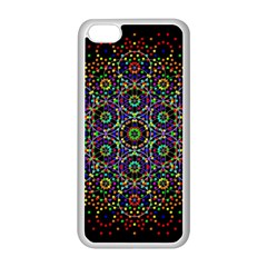 The Flower Of Life Apple Iphone 5c Seamless Case (white) by BangZart