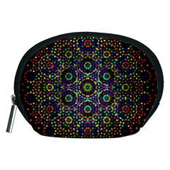 The Flower Of Life Accessory Pouches (medium)