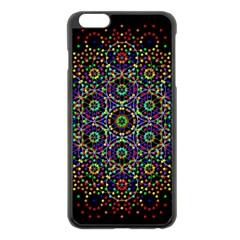 The Flower Of Life Apple Iphone 6 Plus/6s Plus Black Enamel Case by BangZart